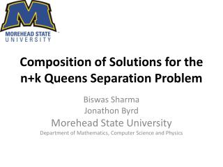 Composition of Solutions for the  n+k  Queens Separation Problem