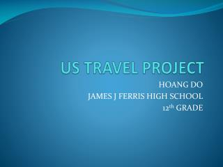 US TRAVEL PROJECT