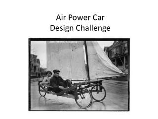 Air Power Car Design Challenge