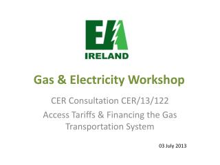 Gas & Electricity Workshop