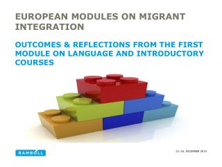 European modules on migrant integration