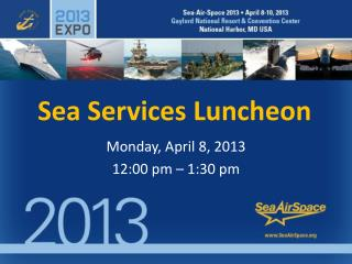 Sea Services Luncheon