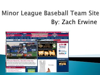 Minor League Baseball Team Site