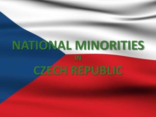 NATIONAL MINORITIES IN CZECH REPUBLIC