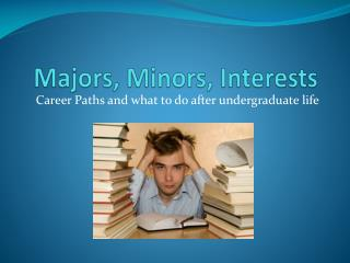 Majors, Minors, Interests