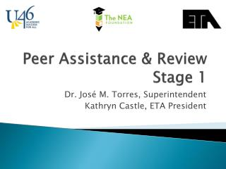 Peer Assistance & Review Stage 1