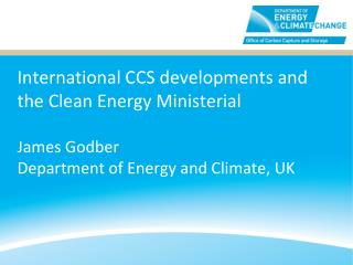 CCS in the Clean Energy Ministerial
