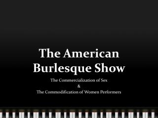 The American Burlesque Show