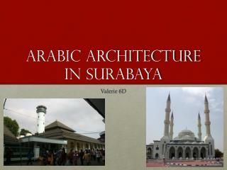 Arabic architecture in Surabaya
