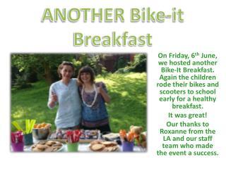 ANOTHER Bike-it  Breakfast
