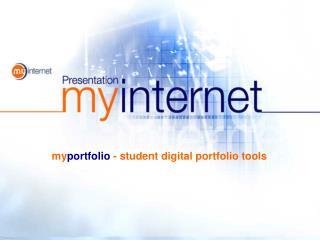 my portfolio - student digital portfolio tools