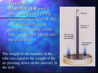 As atmospheric pressure increases…