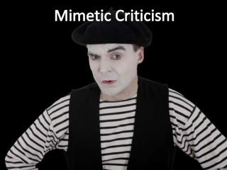 Mimetic Criticism