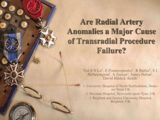 Are Radial Artery Anomalies a Major Cause of Transradial Procedure Failure?