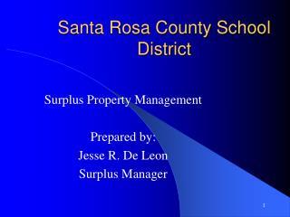 Santa Rosa County School District