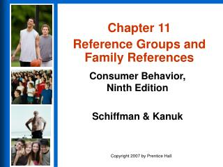 Chapter 11 Reference Groups and Family References