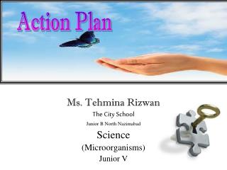 Ms.  Tehmina Rizwan The City School Junior B North  Nazimabad Science  (Microorganisms) Junior  V