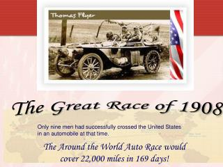 The Great Race of 1908