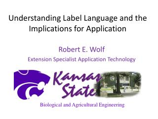 Understanding Label Language and the Implications for Application
