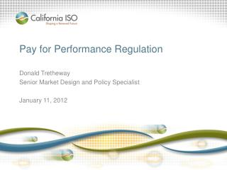 Pay for Performance Regulation