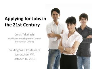 Applying for Jobs in the 21st  Century