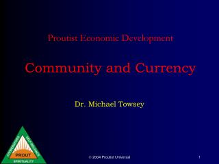 Proutist Economic Development Community and Currency