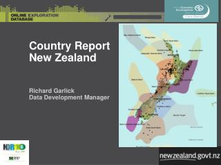 Country Report  New Zealand Richard Garlick Data Development Manager