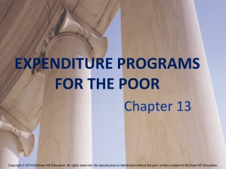 EXPENDITURE PROGRAMS FOR THE POOR