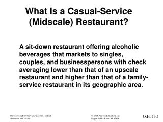 What Is a Casual-Service (Midscale) Restaurant?