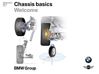 Chassis basics Welcome