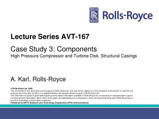 Lecture Series AVT-167