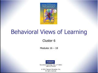 Behavioral Views of Learning