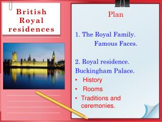 British Royal residences
