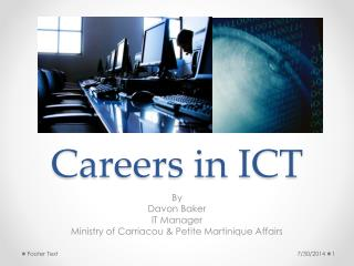 Careers in ICT