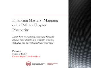 Financing Mastery: Mapping out a Path to Chapter Prosperity