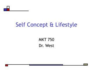 Self Concept & Lifestyle
