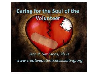 Caring for the Soul of the Volunteer