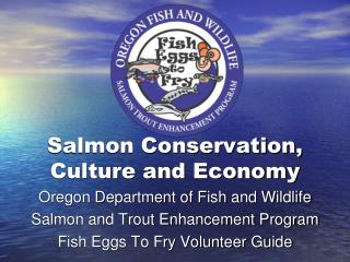 Salmon Conservation, Culture and Economy