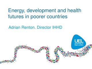 Energy, development and health futures in poorer countries