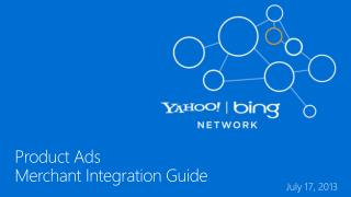 Product Ads Merchant Integration Guide