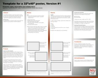 "Template for a 32""x40"" poster, Version #1"