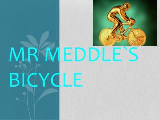 Mr Meddle`s  bicycle