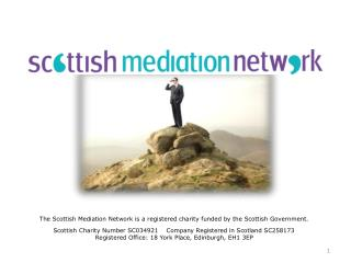The Scottish Mediation Network is a registered charity funded by the Scottish Government.