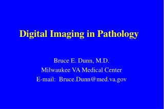 Digital Imaging in Pathology