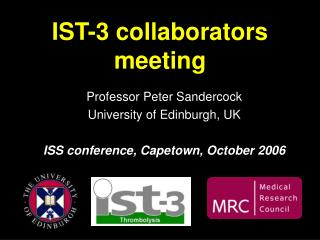 IST-3 collaborators meeting