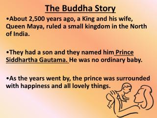 The Buddha Story