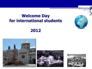 Welcome Day for international students 2012