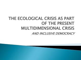 Is Democracy in Crisis