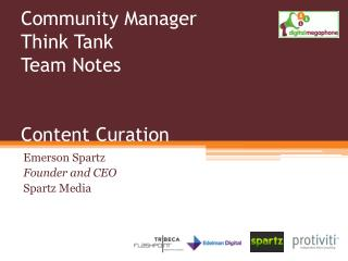 Community Manager Think Tank Team Notes Content Curation