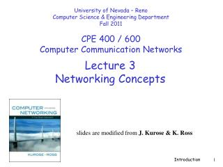Lecture  3 Networking  Concepts